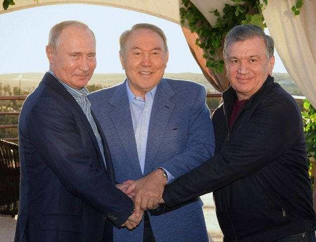 ВСарыагаше встретились президенты трех стран- Kapital.kz