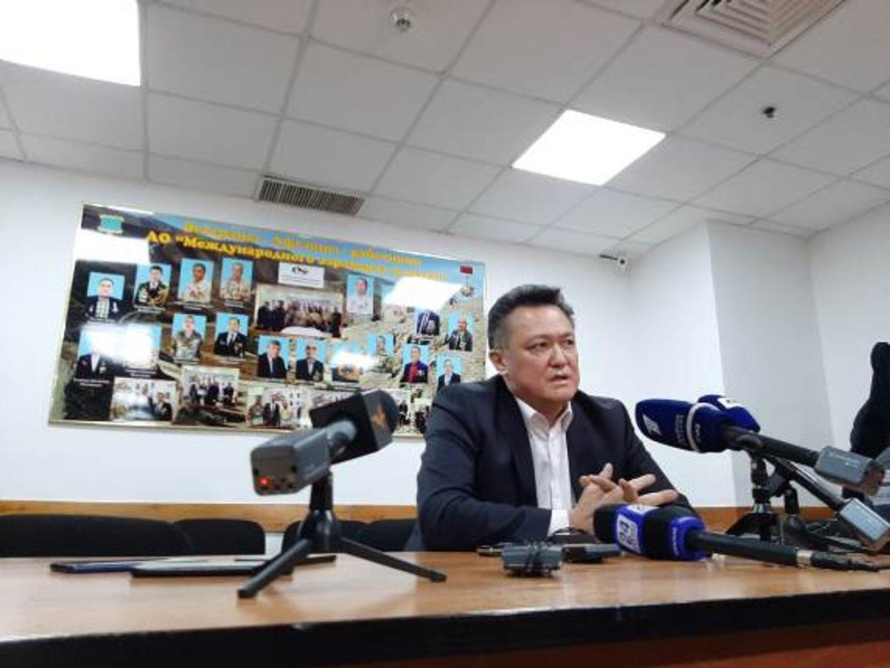 На фото: Тлеухан Абильдаев, руководитель управления общественного здоровья Алматы