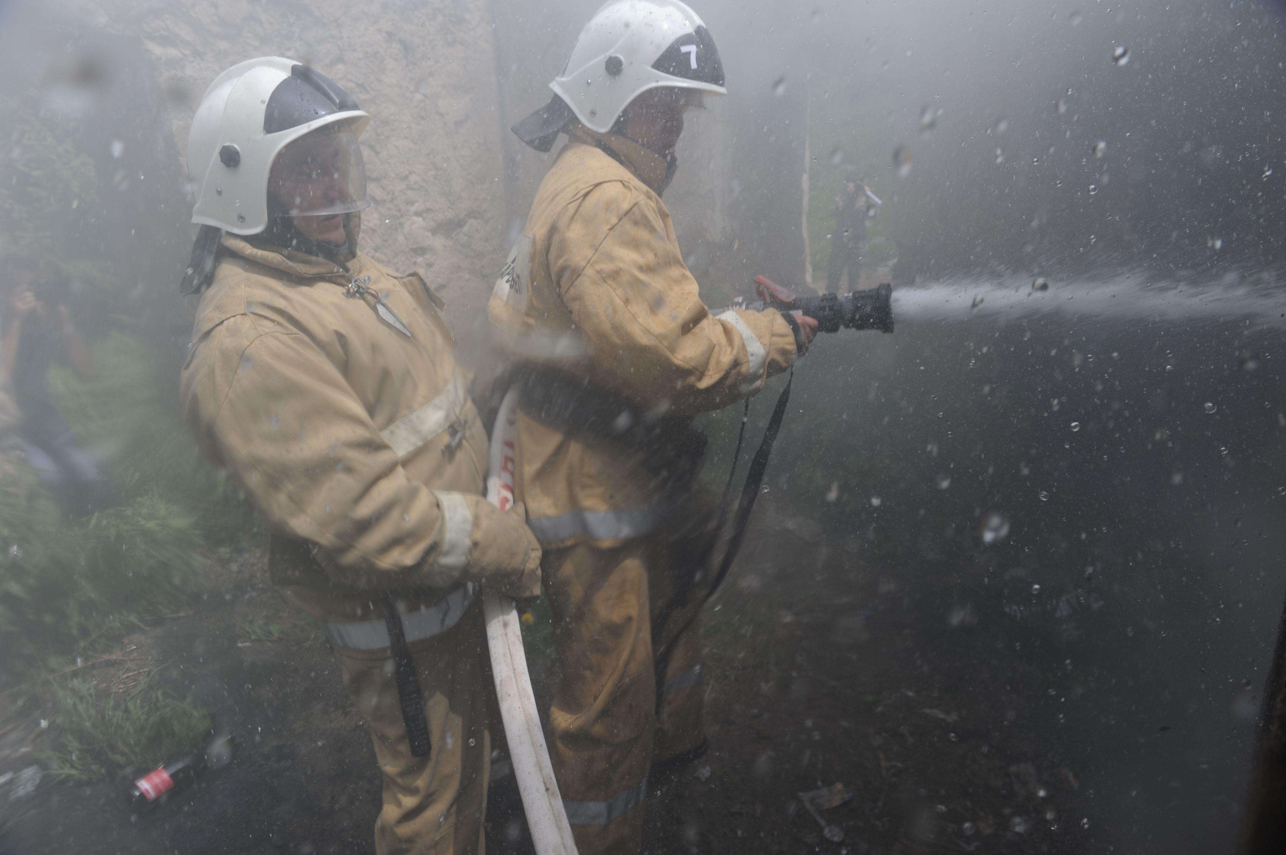 Наодном изрынков Алматы произошел крупный пожар- Kapital.kz
