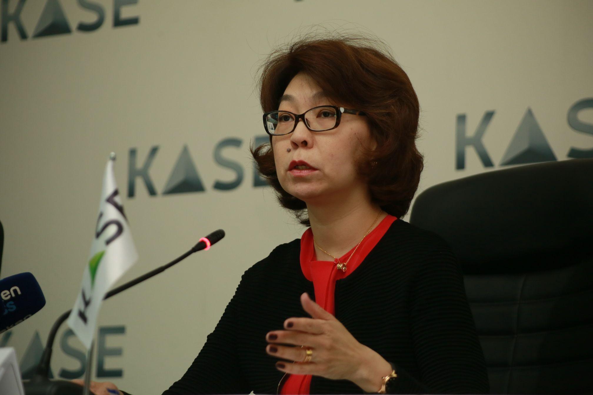 Председатель правления АО «Казахстанская фондовая биржа» (KASE)Алина Алдамберген - Kapital.kz