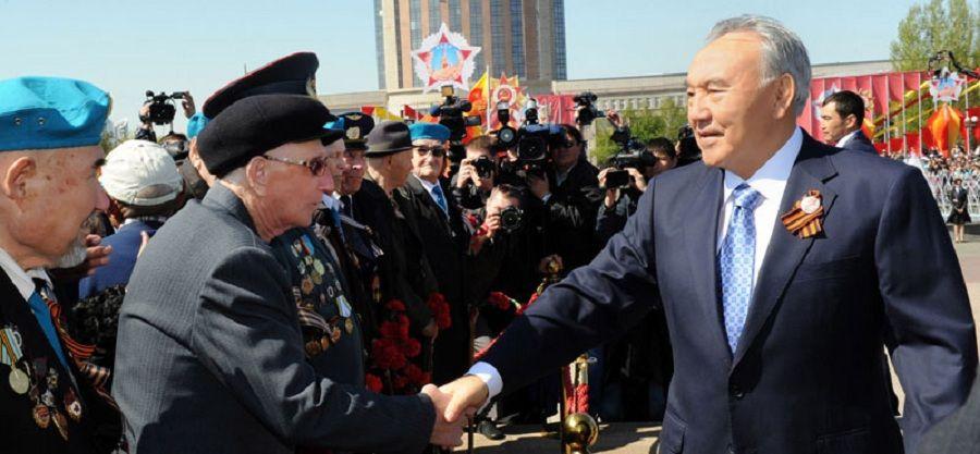 Назарбаев поздравил казахстанцев с Днем Победы- Kapital.kz