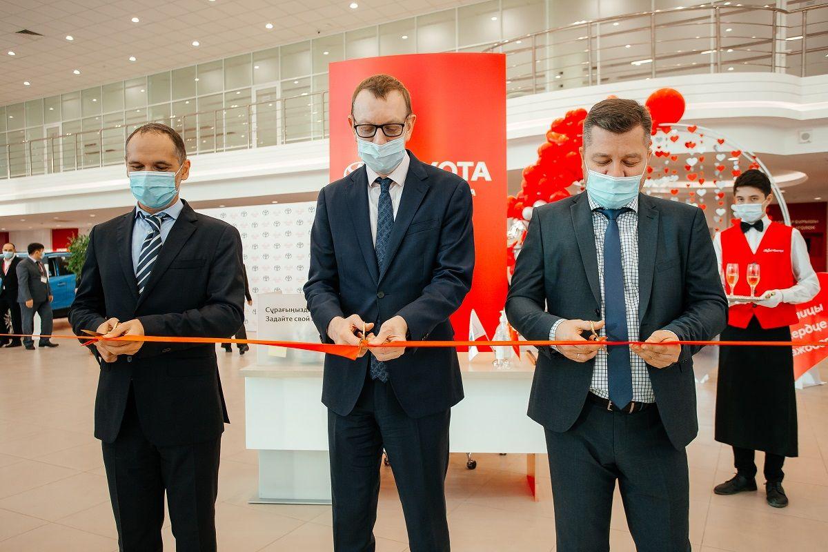 В Нур-Султане открыли новый автоцентр Toyota- Kapital.kz