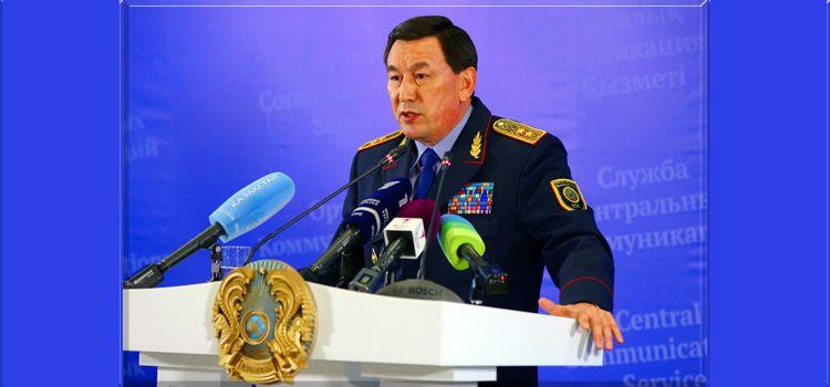 Министр Касымов не видит смысла в проведении митинга 21 мая- Kapital.kz