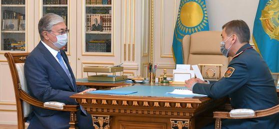 Нурлан Ермекбаев доложил Президенту об оптимизации структуры армии