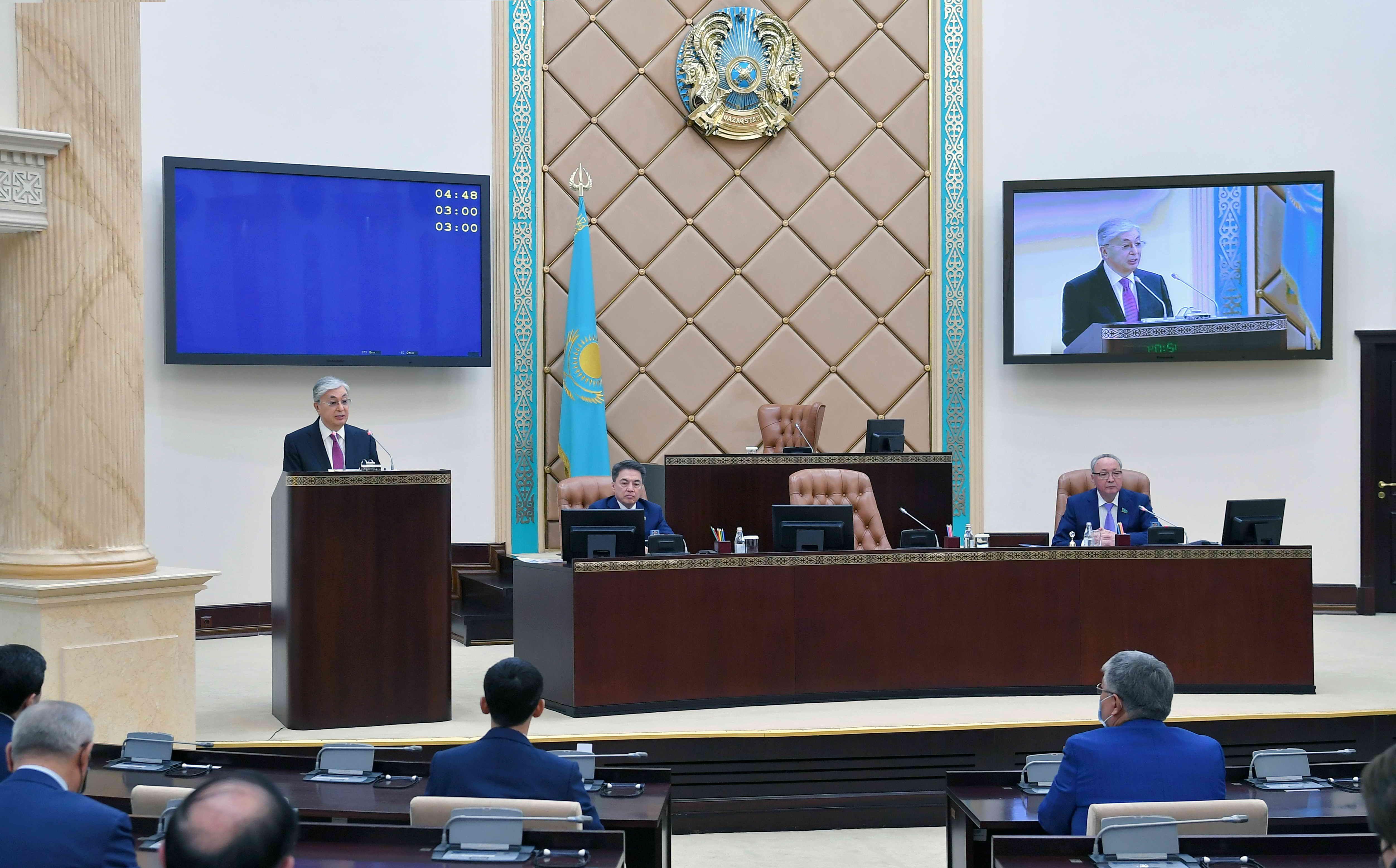 Президент: Необходимы согласованные действия всех ветвей власти- Kapital.kz