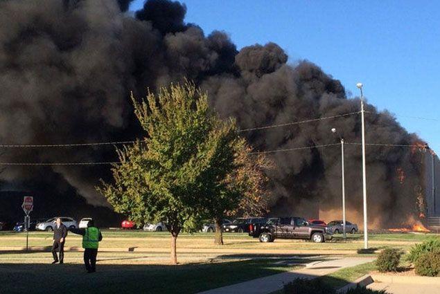 В Канзасе самолет врезался в здание аэропорта- Kapital.kz