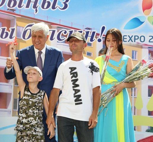 ВТалдыкоргане впреддверии Дня Астаны вручены ключи от168квартир- Kapital.kz