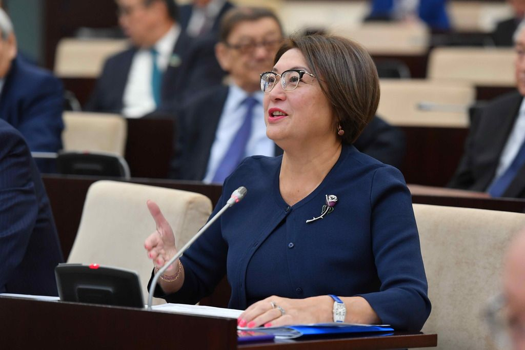 Бырганым Айтимова избрана зампредседателя Совета сенаторов- Kapital.kz