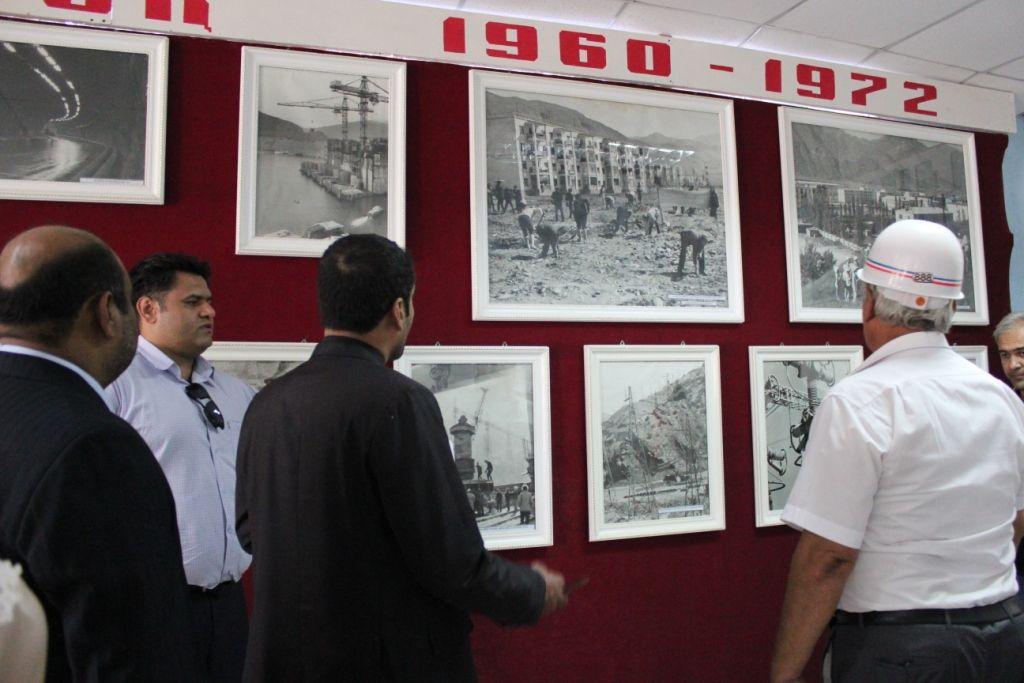 Уголок истории.Кадры строительства Нурекской ГЭС и одноименного города, возникшего в 1960 году на месте кишлака.