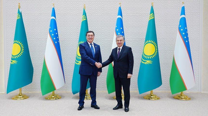 Аскар Мамин провел переговоры с Президентом Узбекистана- Kapital.kz