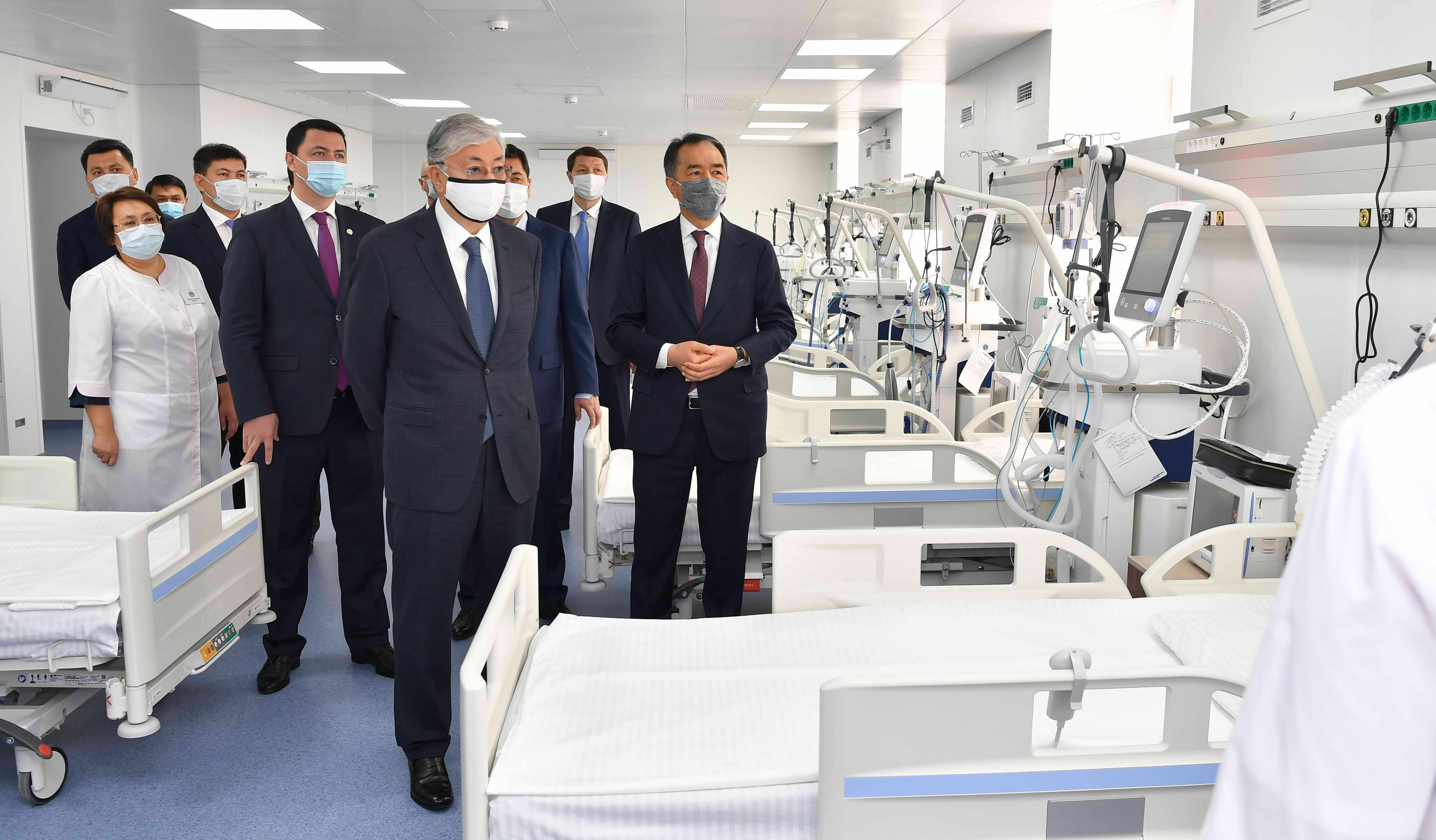 Медицина будет находиться в сфере пристального внимания - Президент 441391 - Kapital.kz