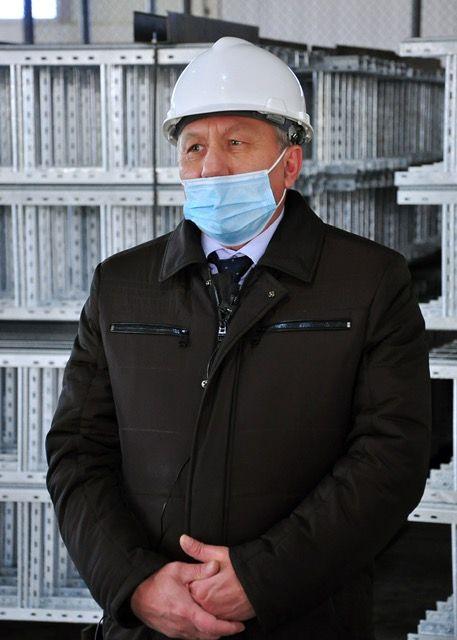 На фото: генеральный директор завода Александр Донсков - Kapital.kz