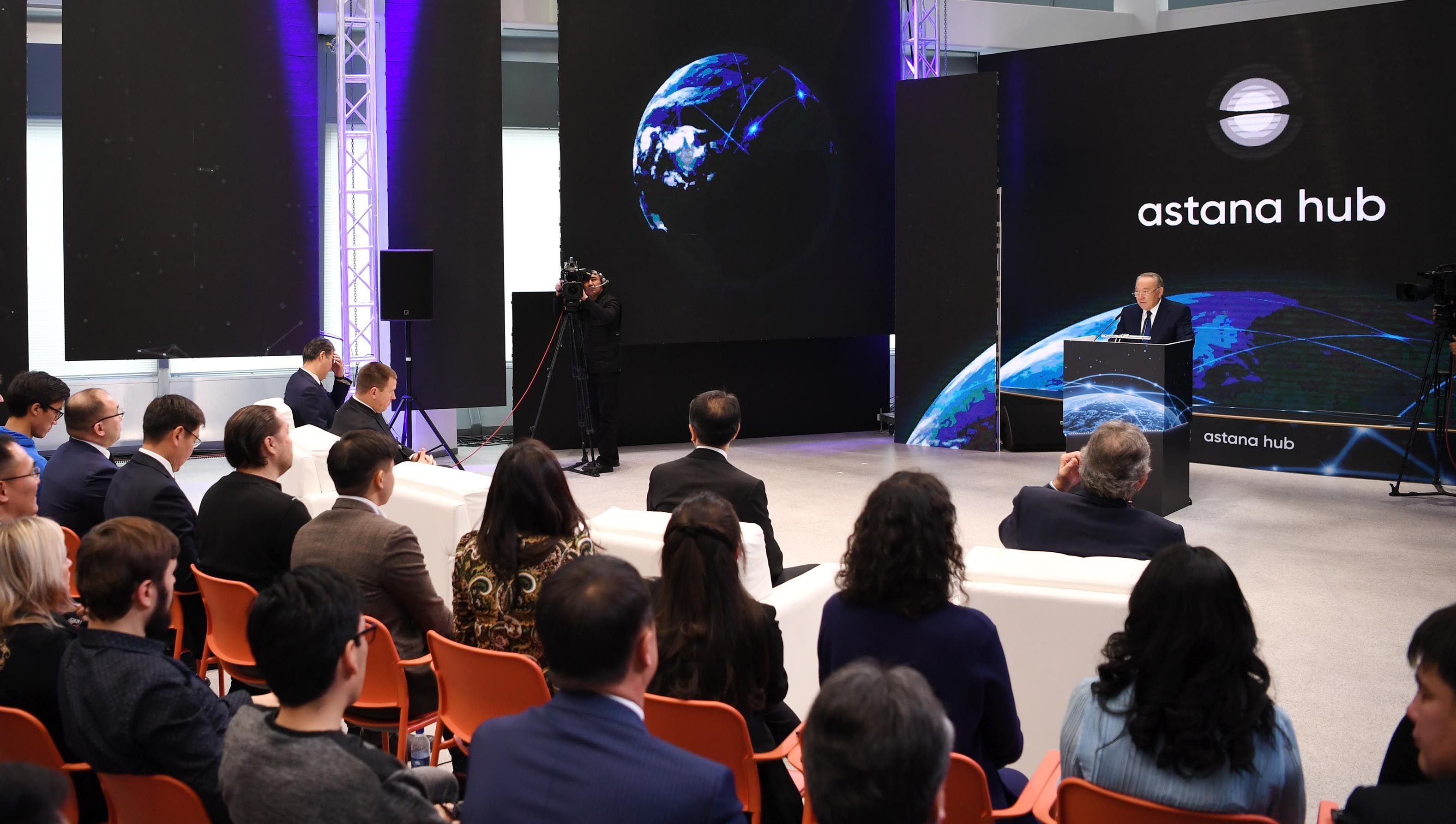 Президент открыл работу международного технопарка- Kapital.kz