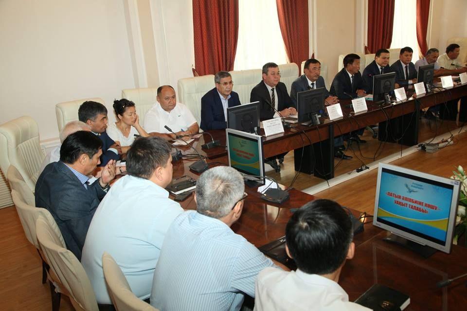 Вальма-матер Южно-Казахстанской области поддержали переход налатиницу- Kapital.kz