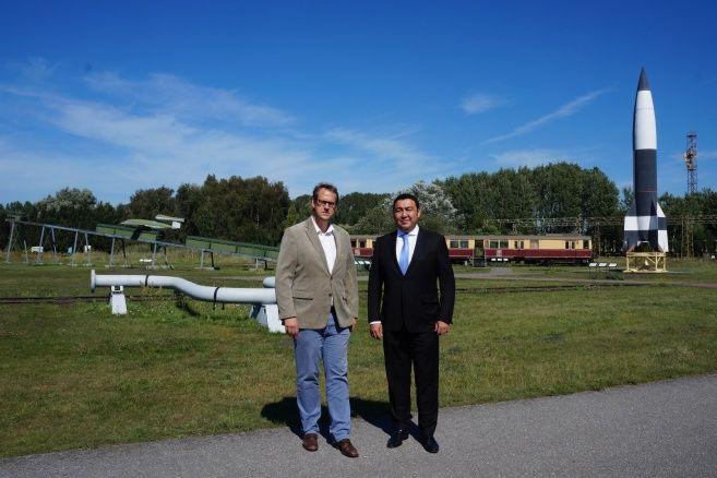 Бывший ракетный центр Германии присоединится к проекту Атом- Kapital.kz