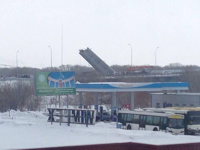 ВУсть-Каменогорске рухнул пролет моста через Иртыш- Kapital.kz