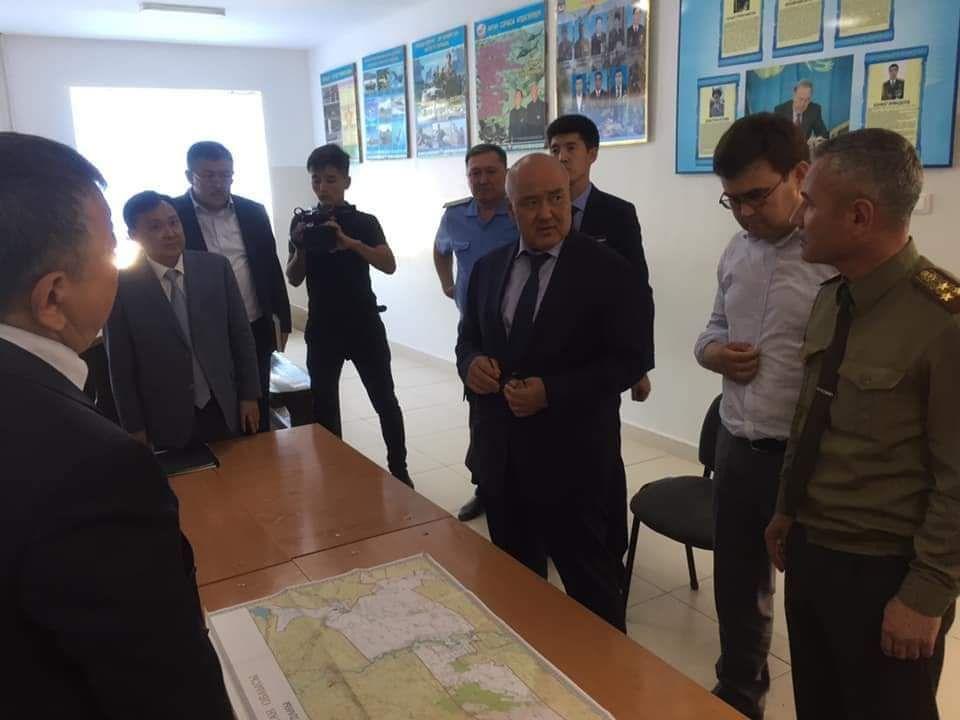 Умирзак Шукеев прибыл в Арысь- Kapital.kz