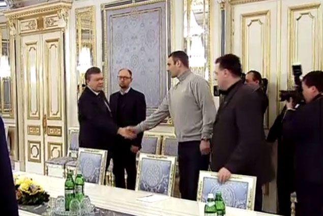 Кличко рассказал о договоренностях с Януковичем- Kapital.kz