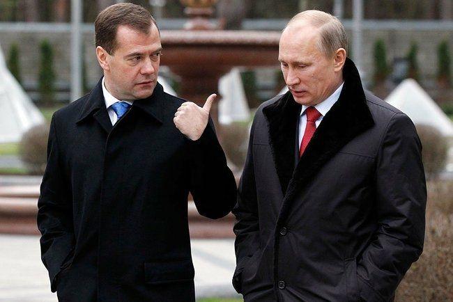 Владимир Путин иДмитрий Медведев обнародовали доходы- Kapital.kz
