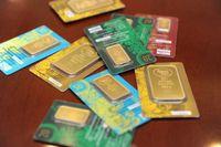 В апреле казахстанцы купили свыше 94 кг золота