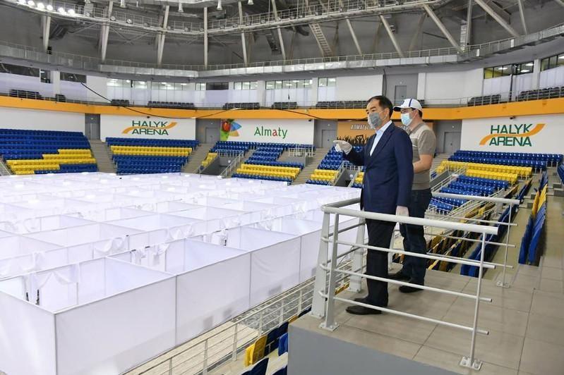 Halyk Arena в Алматы оборудовали под временный стационар 363521 - Kapital.kz