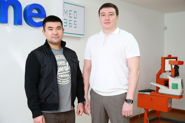 Абай Суттыгожанов и Чингиз Кулахметов