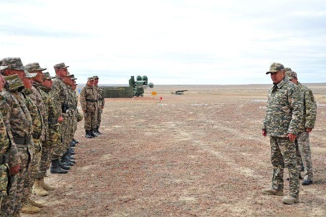 Министр обороны проверил Талдыкорганский гарнизон- Kapital.kz