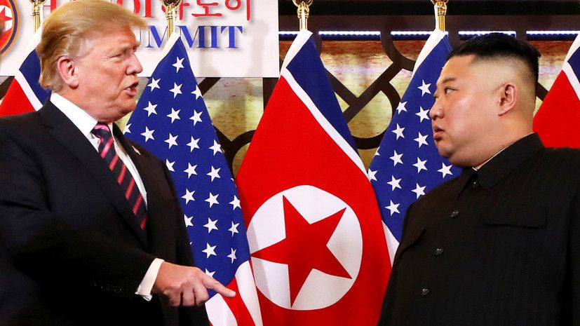 Трамп попросил Ким Чен Ына передать США ядерное оружие КНДР- Kapital.kz