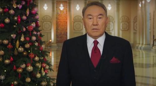 Президент поздравил казахстанцев сНовым 2017годом- Kapital.kz