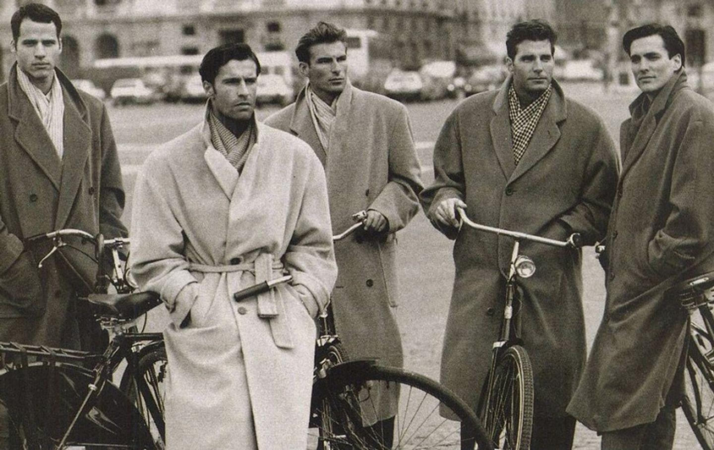 Мужские пальтоHugo Boss послевоенных лет