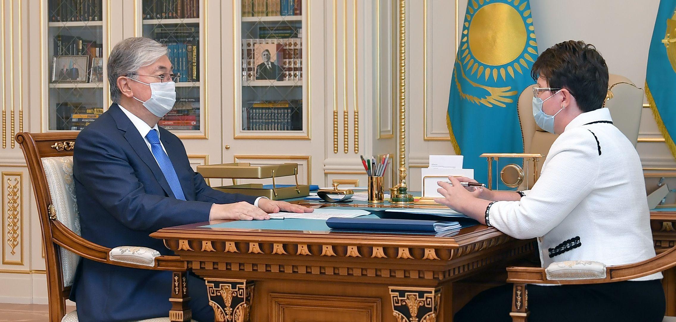 Президент дал поручения главе Счетного комитета- Kapital.kz