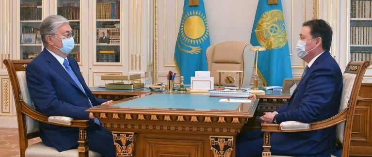 Аскар Мамин отчитался о работе Правительства- Kapital.kz