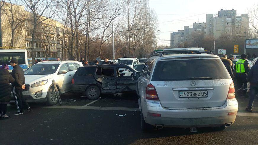По ДТП в Алматы с 8 машинами будет выплачено свыше 5 млн тенге 176556 - Kapital.kz