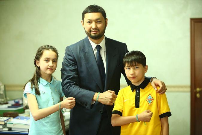 «Футбол для дружбы» поддержал Кенес Ракишев- Kapital.kz
