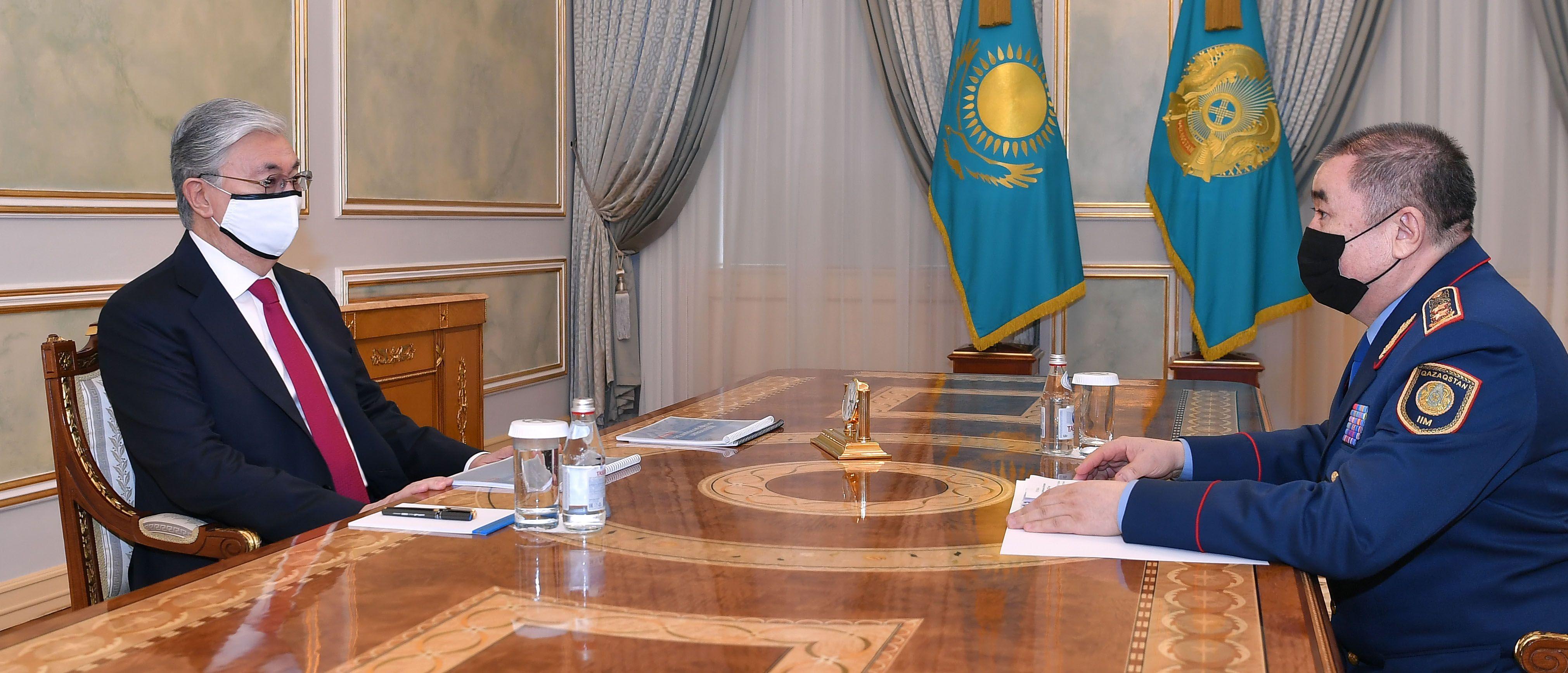 Ерлан Тургумбаев доложил об  итогах работы МВД в 2020 году- Kapital.kz