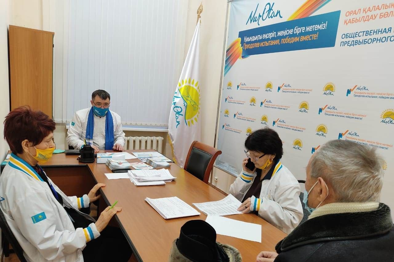 В Уральске представители НПО встретились с кандидатами в депутаты 556672 - Kapital.kz