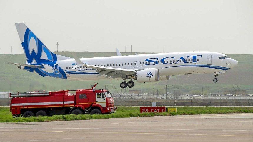 В аэропорту Шымкента загорелся терминал авиакомпании «Скат»- Kapital.kz