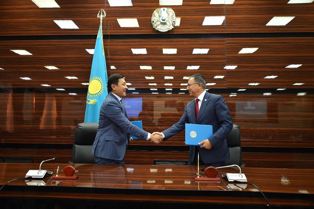 Жансеит Туймебаев иАлтай Кульгинов подписали 4меморандума- Kapital.kz