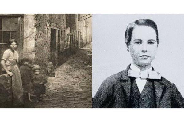 Томми Липтон в детстве с мамой (слева) и Томас в школьные годы (справа) - Kapital.kz