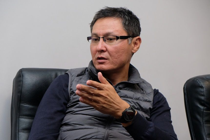 На фото: Ергали Бегимбетов, председатель правления АО «СК Amanat»