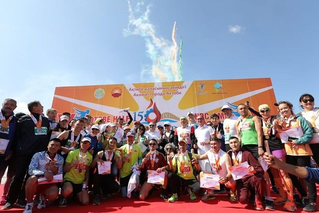 В  Актобе международный марафон собрал 2,5 млн тенге- Kapital.kz