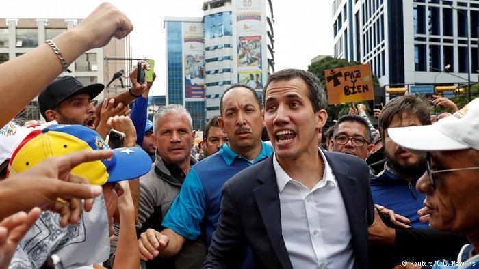 Лидер оппозиции Венесуэлы провозгласил себя президентом- Kapital.kz