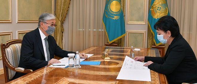 Президент встретился с Гульшарой Абдыкаликовой - Kapital.kz