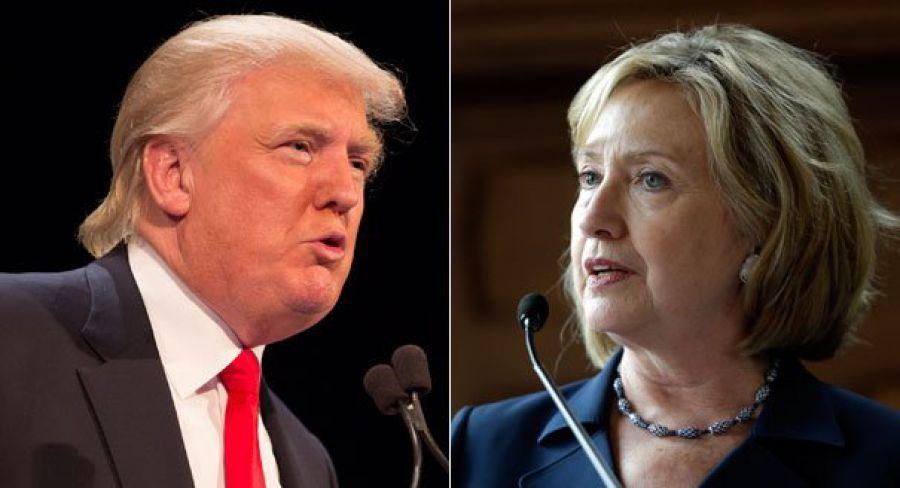 Дональд Трамп иХиллари Клинтон проголосовали навыборах президента США- Kapital.kz