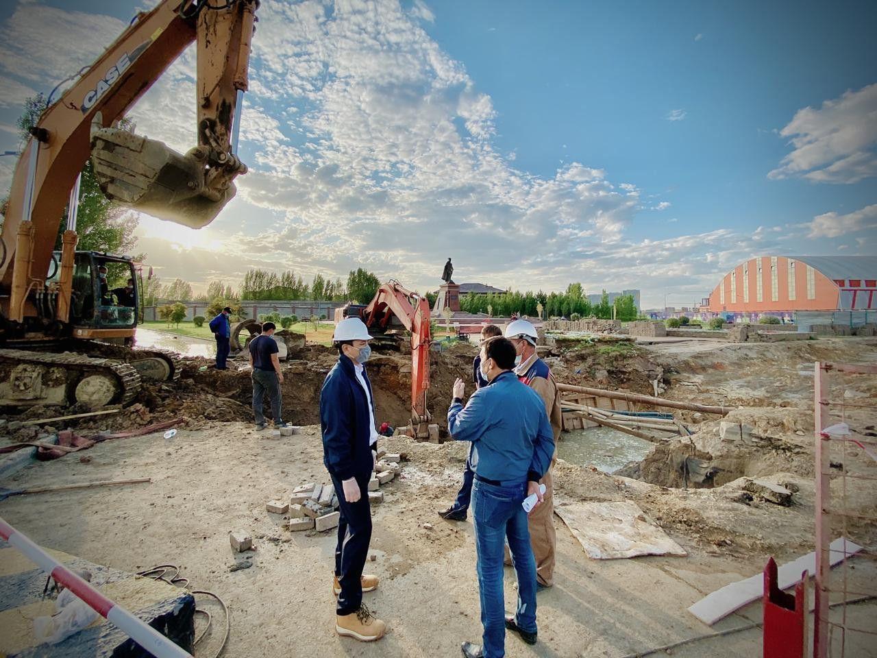 Когда завершится строительство ливневых канализаций в столице- Kapital.kz